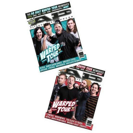 Warped Tour 2017 Magazine Bundle