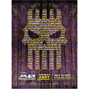 Official 2017 APMAS Poster Poster Alternative Press