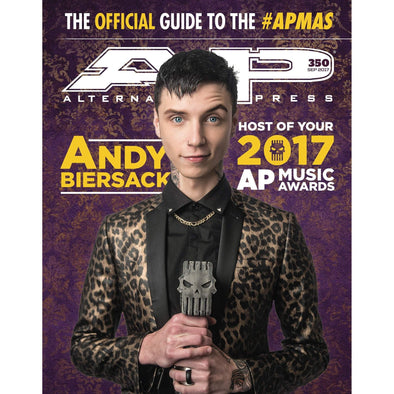 altpress alternative press magazine apmas music awards apma andy biersack black beirsack beersack