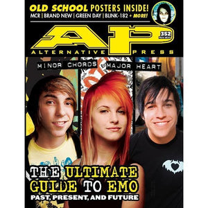 The Ultimate Emo Guide by Alternative Press Magazine Issue 352