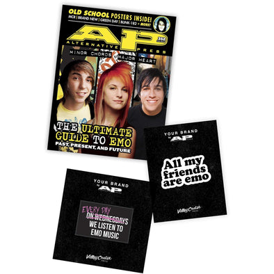 Emo Pin & Patch Bundle