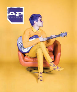 Alternative Press Magazine Awsten Knight of Waterparks Issue 354