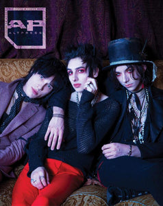 Palaye Royale on Alternative Press Magazine Issue 357 Exclusive Photoshoot At The Foundation Room In Cleveland Ohio