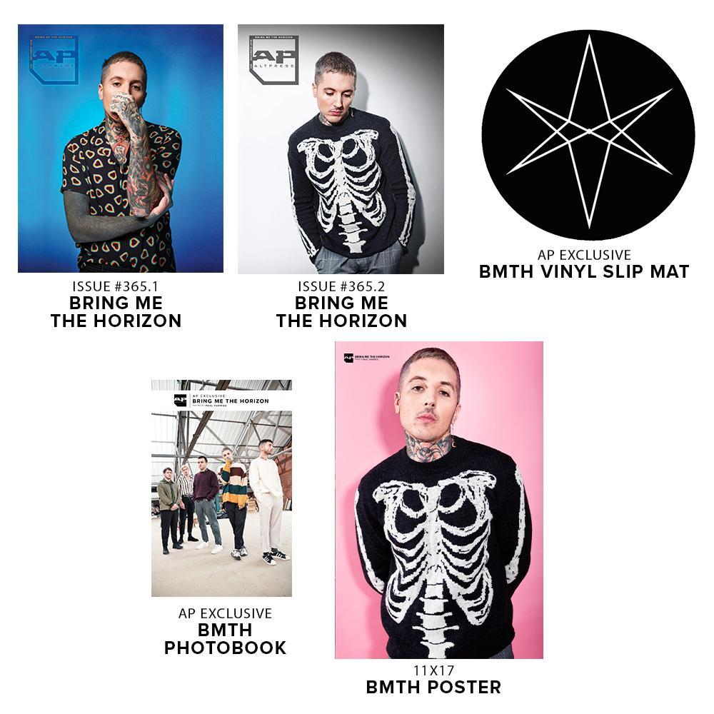 Alternative Press Bundle Bring Me The Horizon [BMTH] - AP Gold Collection - 365