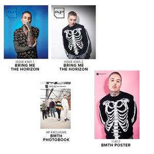 Bring Me The Horizon on Alternative Press Magazine Issue 365 Silver Collection