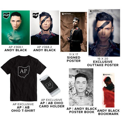 Alternative Press Cover Bundle Andy Black - AP Ghost Collection - 368
