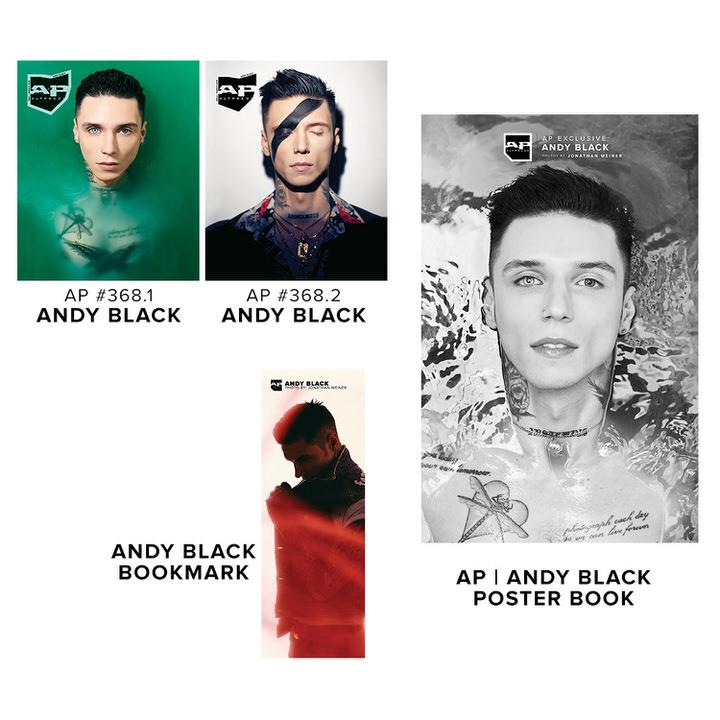 Alternative Press Cover Bundle Andy Black - AP Gold Collection - 368