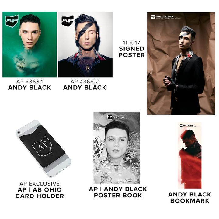 Alternative Press Cover Bundle Andy Black - AP Platinum Collection - 368
