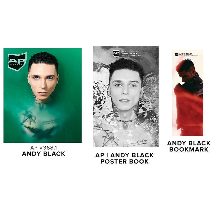 Alternative Press Cover Bundle Andy Black - AP Silver Collection - 368