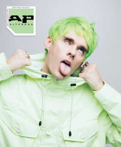 Awsten Knight of Waterparks on Alternative Press Magazine Issue 373 Version 1
