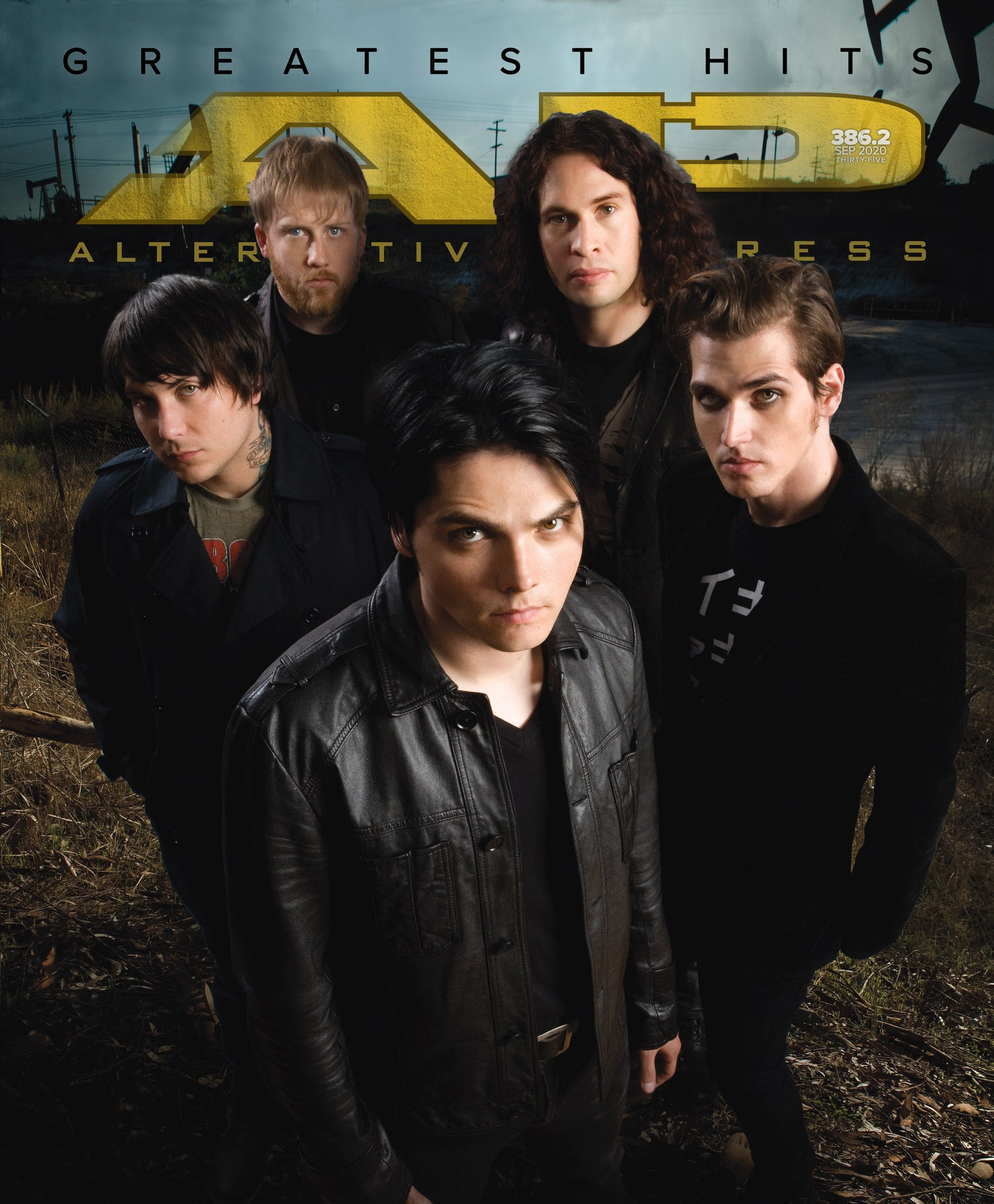 My Chemical Romance - Alternative Press Magazine Issue 386 Version 2 - Single Issue