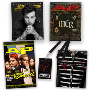 Frank Iero - Alternative Press Magazine Issue 386 Version 4 - Premium Collection Cover Collection Alternative Press Magazine