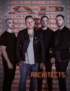 Architects - Alternative Press Magazine Issue 393 April 2021 - Version 1 New Gen Magazine Alternative Press