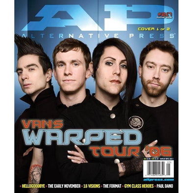 altpress alternative press magazine warped tour 2006 AFI motion city soundtrack anti-flag rise against