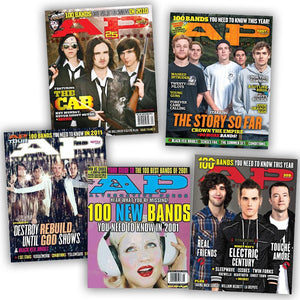 500 Bands You Should Know Collection Cover Bundle Alternative Press