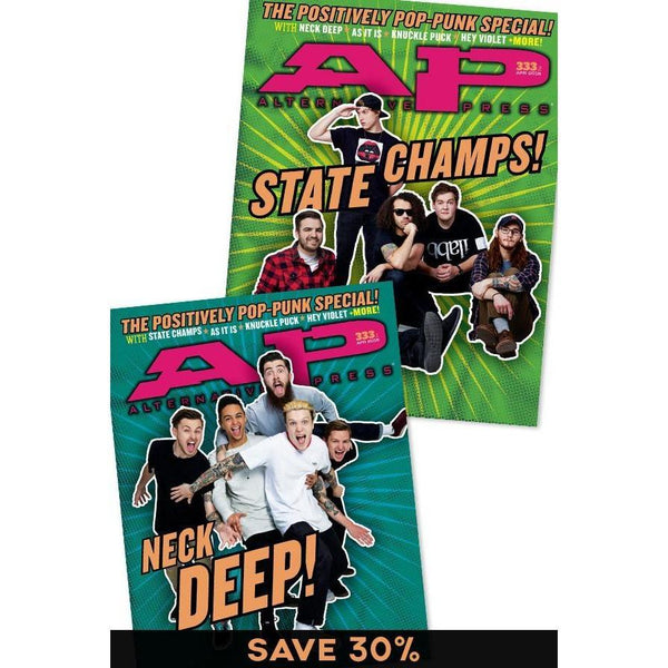 Neck Deep & State Champs Magazine Bundle