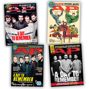 A Day To Remember on Alternative Press Magazine Fan Pack