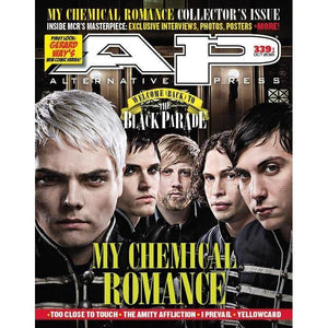 My Chemical Romance For Alternative Press Issue 339 Version 1 Full Band Cover