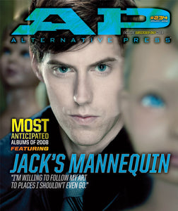 Jack's Mannequin on Alternative Press Magazine Issue 234 Version 2