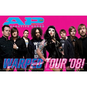 [241] Warped Tour 2008 Magazines Alternative Press