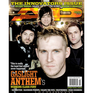 The Gaslight Anthem on Alternative Press Magazine Issue 250
