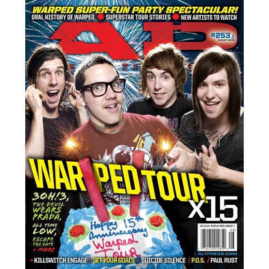 altpress alternative press magazine warped tour 2009 kevin lyman pennywise nofx blink-182 fall out boy underoath set your goals suicide silence settle passion pit
