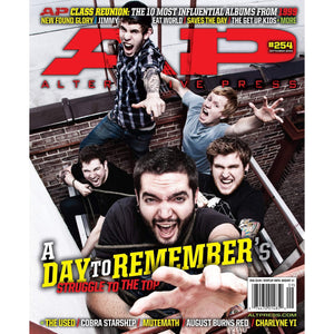 A Day to Remember on Alternative Press Magazine Issue 254