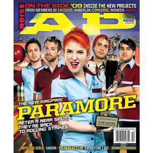 Paramore on Alternative Press Magazine Issue 255