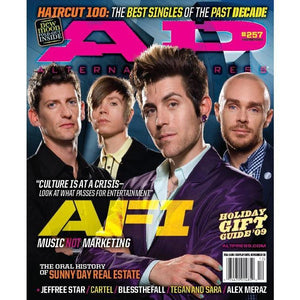 AFI on Alternative Press Magazine Issue 257