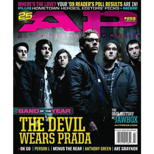 The Devil Wears Prada on Alternative Press Magazine Issue 259