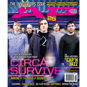 Circa Survive on Alternative Press Magazine Issue 263