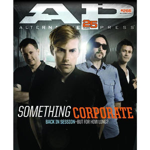Something Corporate on Alternative Press Magazine Issue 266