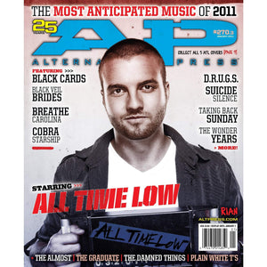 All Time Low on Alternative Press Magazine Issue 270 Version 3