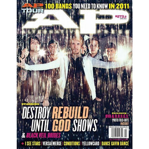 Destroy Rebuild Until God Shows on Alternative Press Magazine Issue 273 Version 2