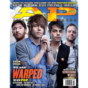 Warped Tour 2011 on Alternative Press Magazine Issue 277 Version 1