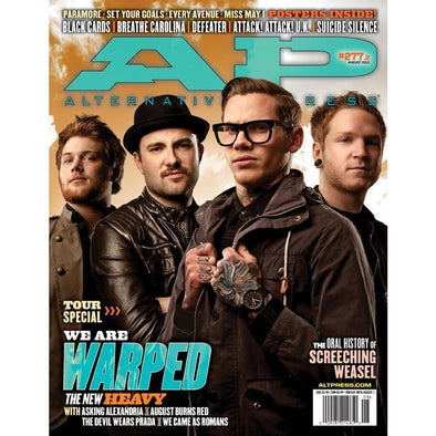 altpress alternative press magazine warped tour 2011 asking alexandria august burns red the devil wears prada go radio the ready set there for tomorrow we came as romans the wonder years
