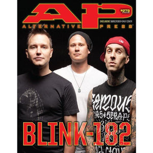 Blink 182 on Alternative Press Magazine Issue 279