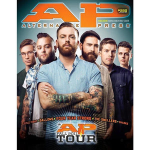 AP Tour 2011 on Alternative Press Magazine Issue 280 Version 4
