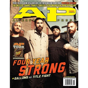Four Year Strong on Alternative Press Magazine Issue 280 Version 1
