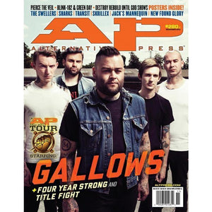 Gallows on Alternative Press Magazine Issue 280 Version 2