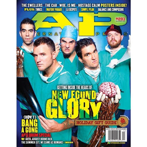 [281] New Found Glory Magazines Alternative Press