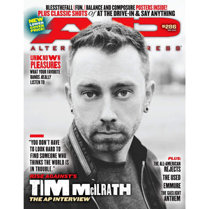 Tim McIlrath on Alternative Press Magazine Issue 286