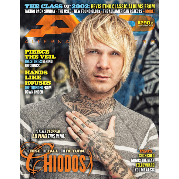 altpress alternative press magazine chiodos craig owens pierce the veil hands like houses new found glory thrice the used memphis may fire the word alive miss may i