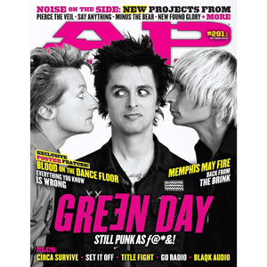 [291.1] Green Day Magazines Alternative Press