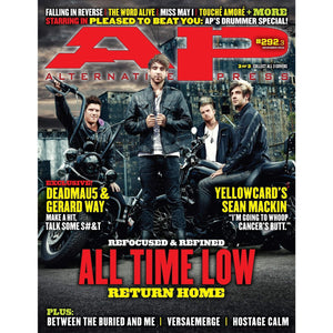 All Time Low on Alternative Press Magazine Issue 292 Version 3