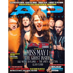 Miss May I on Alternative Press Magazine Issue 293 Version 1