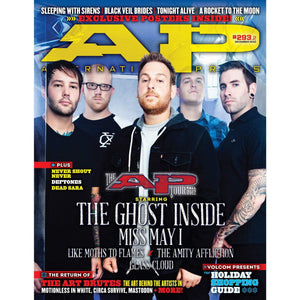 The Ghost Inside on Alternative Press Magazine Issue 293 Version 2