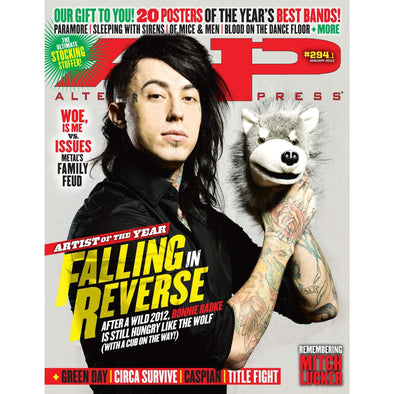 altpress alternative press magazine ronnie radke falling in reverse chiodos blink 182 mayday parade blessthefall blood on the dance floor jeffree star circa survive my chemical romance sleeping with sirens pierce the veil let live paramore the word alive of mice & men motionless in white posters
