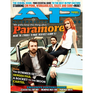 Paramore on Alternative Press Magazine Issue 298 Version 2