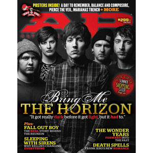 Bring me the Horizon on Alternative Press Magazine Issue 299 Version 1